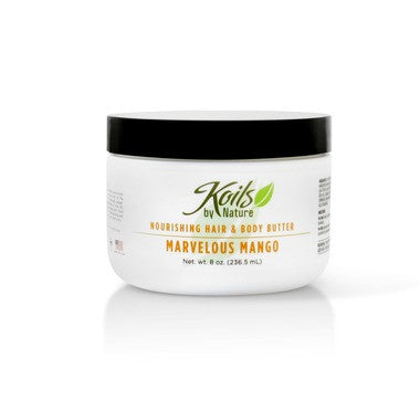 Koils by Nature Nourishing Hair and Body Butter Marvelous Mango