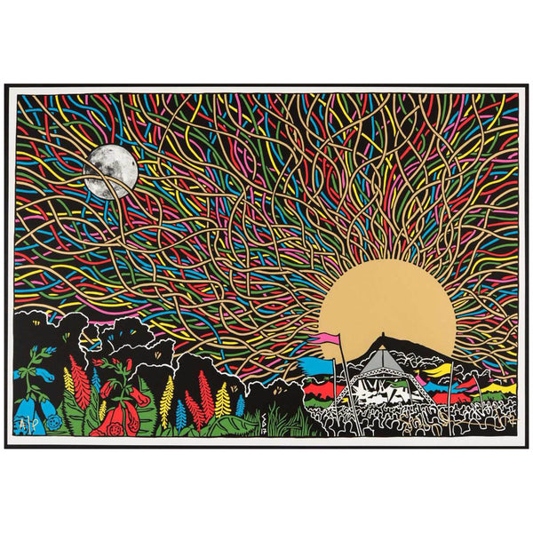 STANLEY DONWOOD 2017 ART PRINT (SIGNED & NUMBERED)