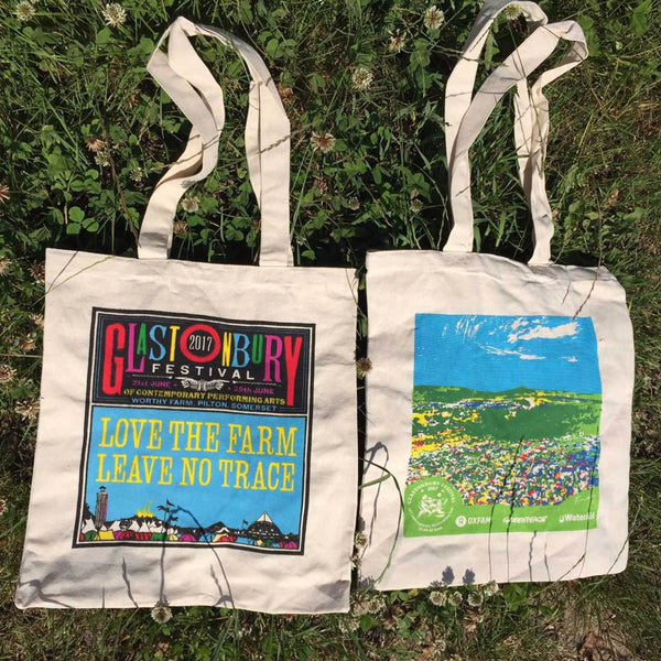 Glastonbury 2017 Cotton Bag