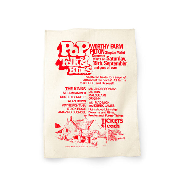 1970 PILTON POP TEA TOWEL