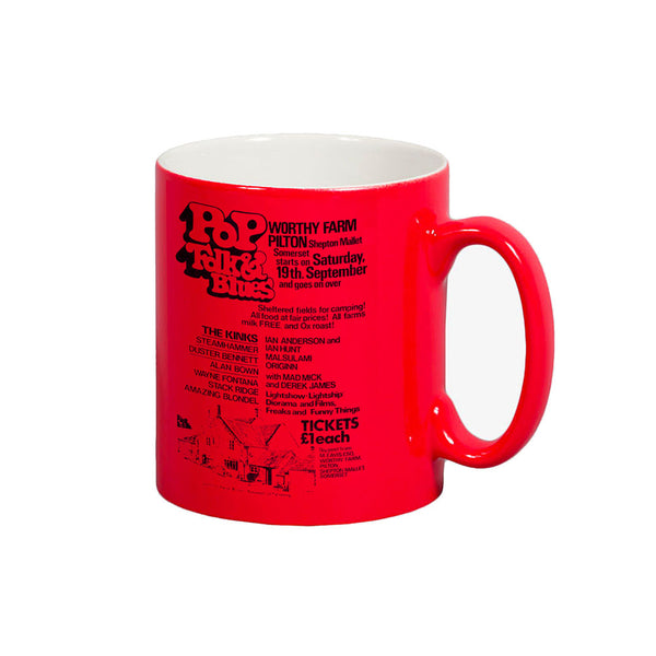 1970 PILTON POP RED MUG