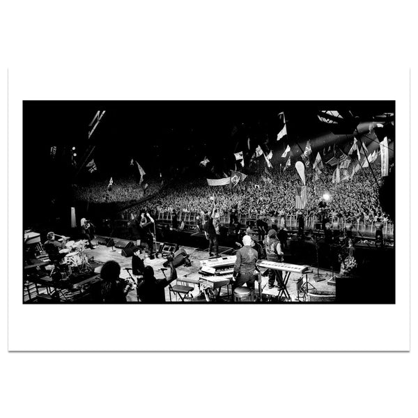 Limited Edition Bruce Springsteen Glastonbury 2009 Photo Print by Jill Furmanovsky
