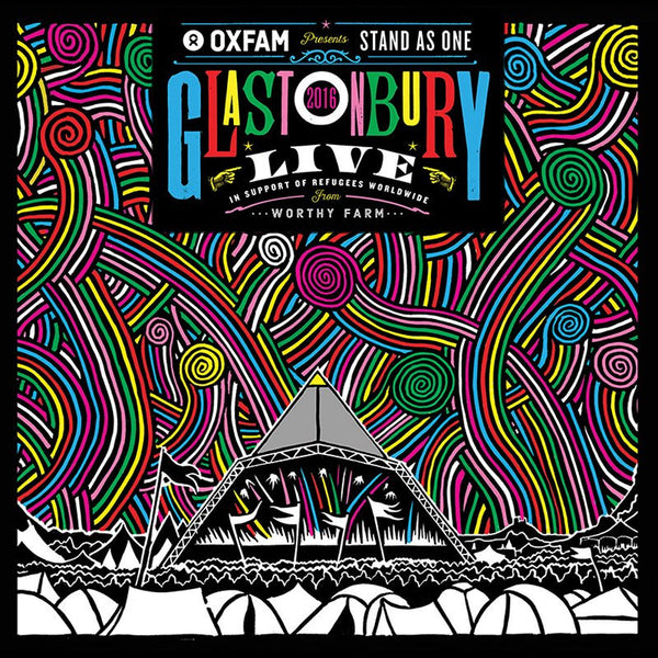Oxfam Presents: Stand As One - Glastonbury Live 2016 2LP