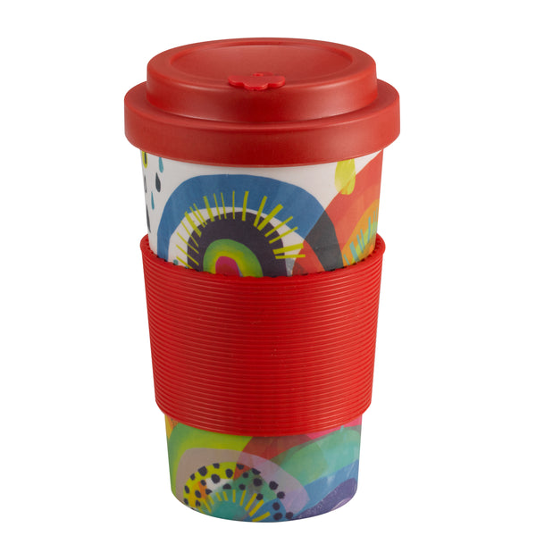 Oxfam Rainbow Bamboo Travel Cup