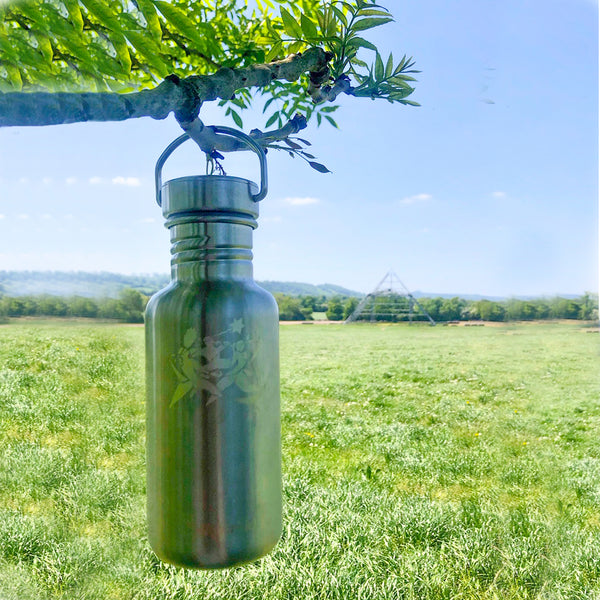 Small Etched Bottle (500ml)