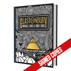 Glastonbury 50 Signed by Michael and Emily Eavis