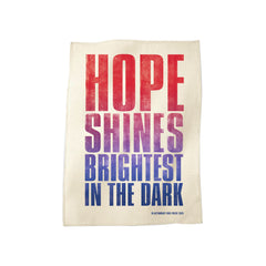 'HOPE SHINES BRIGHTEST' 2020 CHARITY TEA TOWEL