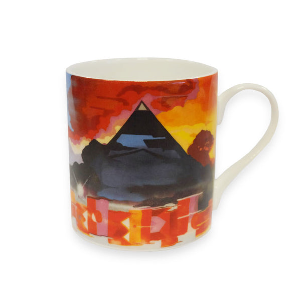 GLASTONBURY ARTWORK CHINA MUG