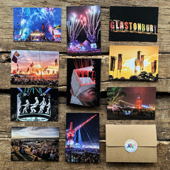 GLASTONBURY POSTCARD SET