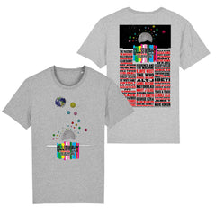 2015 Stanley Donwood Moons Unisex T-Shirt