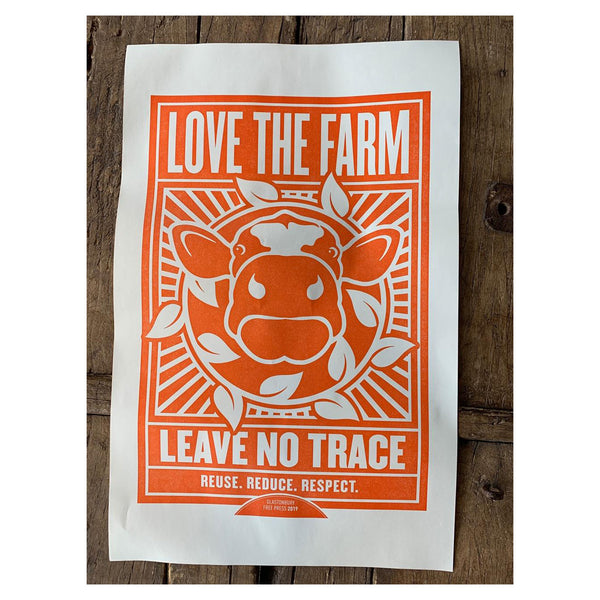 2019 LOVE THE FARM POSTER