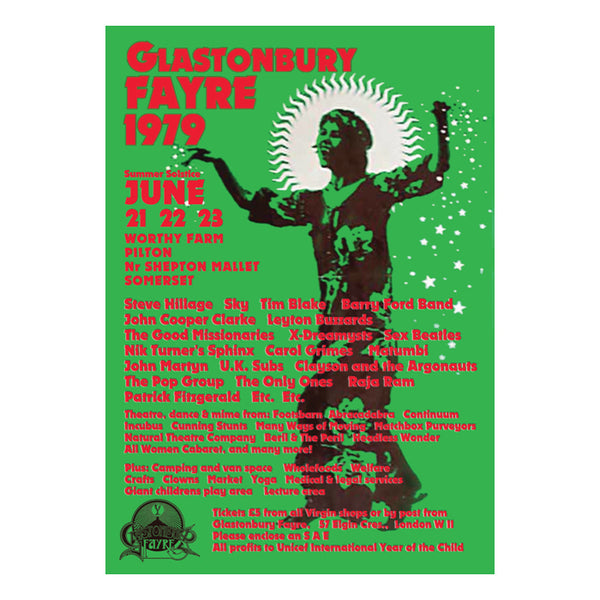 1979 POSTER GREEN
