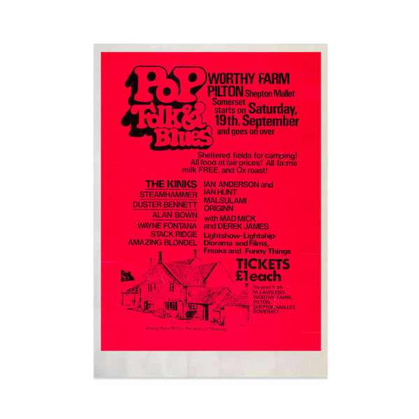 1970 PILTON POP A3 ART PRINT