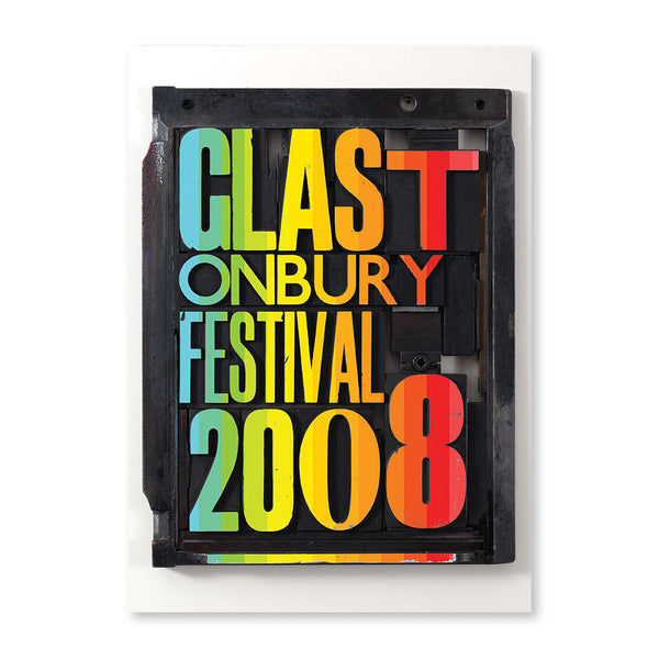 2008 Stanley Donwood Woodblock Poster