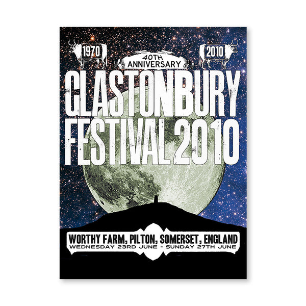 2010 Stanley Donwood Stars Poster