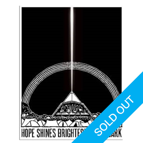 FREE PRESS 2020 'HOPE SHINES BRIGHTEST' CHARITY ART POSTER