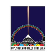 COLOUR 'HOPE SHINES BRIGHTEST' 2020 CHARITY POSTER
