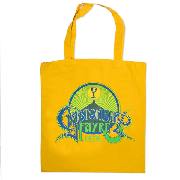 1979 Glastonbury Poster Tote bag