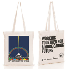 'HOPE SHINES BRIGHTEST' CHARITY TOTE BAG