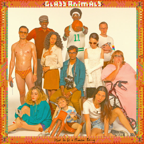 GLASS ANIMALS - HOW TO BE A HUMAN BEING VINYL