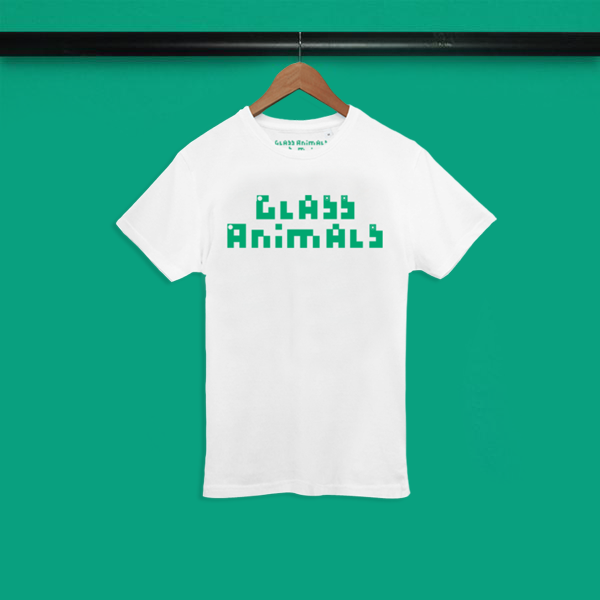 GLASS ANIMALS LOGO WHITE T-SHIRT