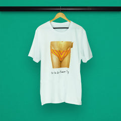 GLASS ANIMALS CROTCH WHITE T-SHIRT