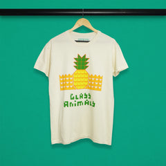 PINEAPPLE LARGE LOGO NATURAL T-SHIRT