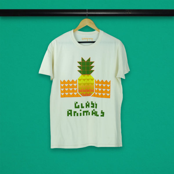 SUNSET PINEAPPLE NATURAL T-SHIRT