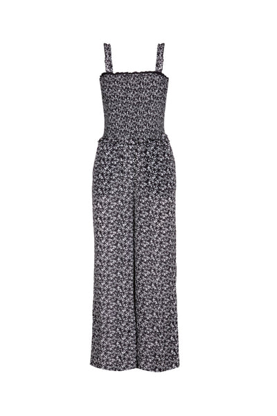 Giovanna Jumpsuit in black and white