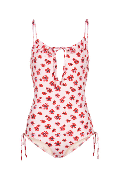 Uma One Piece in Pink Floral