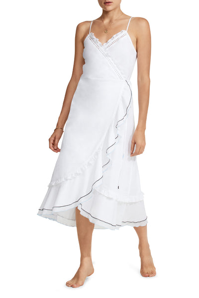 Yael Cotton Wrap Dress
