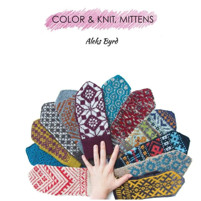 Aleks Byrd Color & Knit Mittens