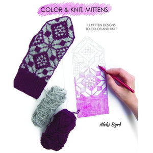 Aleks Byrd Color & Knit Mittens - WOOLS OF NATIONS