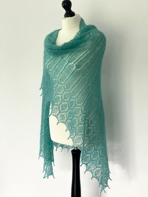 Marna Shawl by Anna Kotsolainen (PDF) - WOOLS OF NATIONS