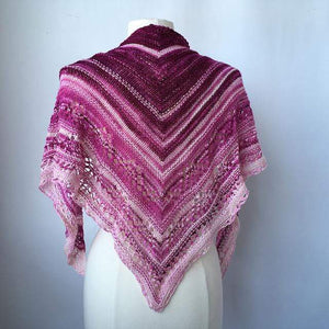 Artyarns Ombre Triangle Shawl Knit Kit - WOOLS OF NATIONS