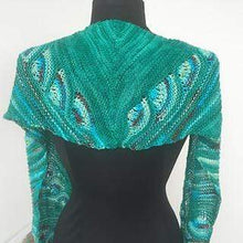 Load image into Gallery viewer, Artyarns Peacock Shawl Kit