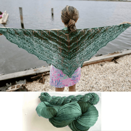 Artyarns The Beautiful Triangle Shawl Knit Kit - WOOLS OF NATIONS