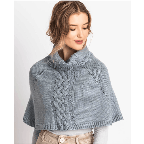 Blue Sky Fibers - Calgary Capelet Knit-A-Long Kit - WOOLS OF NATIONS
