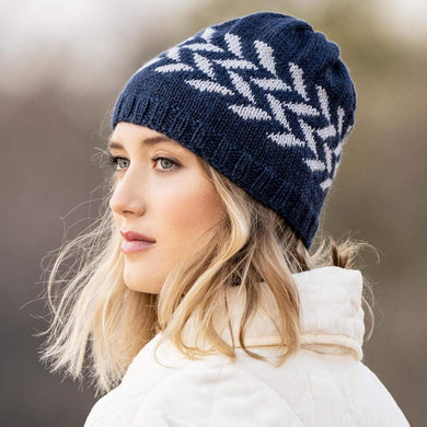Blue Sky Fibers - Hillsdale Hat Knit Kit - WOOLS OF NATIONS