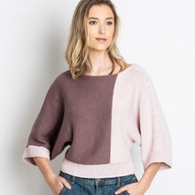 Laden Sie das Bild in den Galerie-Viewer, Blue Sky Fibers Spring Grove Sweater Knit Kit - WOOLS OF NATIONS