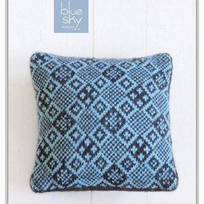 Blue Sky Fibers - 13th Street Pillow (FREE) - WOOLS OF NATIONS