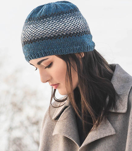 Blue Sky Fibers - Breckenridge Bundle Hat (PDF) - WOOLS OF NATIONS