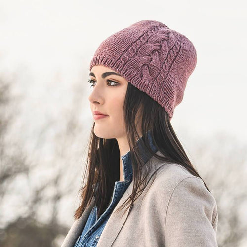 Blue Sky Fibers - Claremont Cabled Hat - WOOLS OF NATIONS