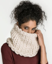 Load image into Gallery viewer, Blue Sky Fibers Jasper Jumbo Cowl (FREE) - WOOLS OF NATIONS
