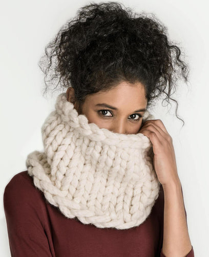 Blue Sky Fibers Jasper Jumbo Cowl (FREE) - WOOLS OF NATIONS