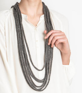 Blue Sky Fibers - New Hope Necklace (FREE) - WOOLS OF NATIONS