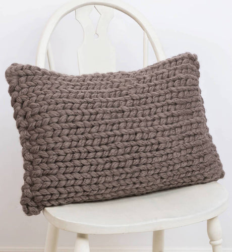 Blue Sky Fibers Park Rapids Pillow Cover (FREE) - WOOLS OF NATIONS