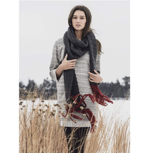Blue Sky Fibers - Silver Bay Scarf - WOOLS OF NATIONS