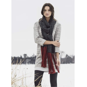 Blue Sky Fibers - Silver Bay Scarf