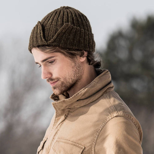 Blue Sky Fibers Split Rib Hat - WOOLS OF NATIONS
